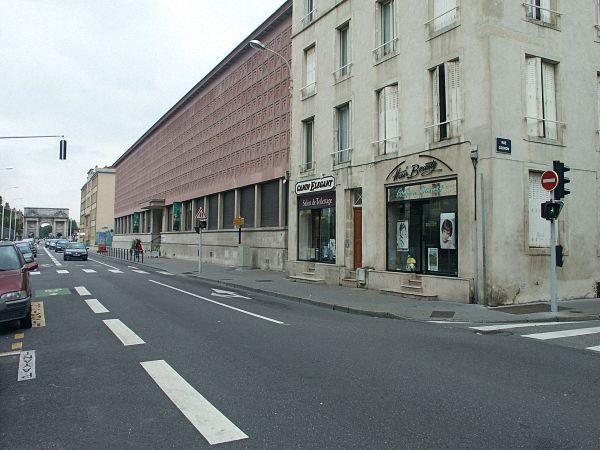 Nancy region lothringen d partement meurthe et moselle for Rue catherine opalinska nancy