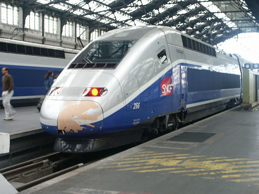 TGV Paris - Marseille am 21.08.2005 in Paris
